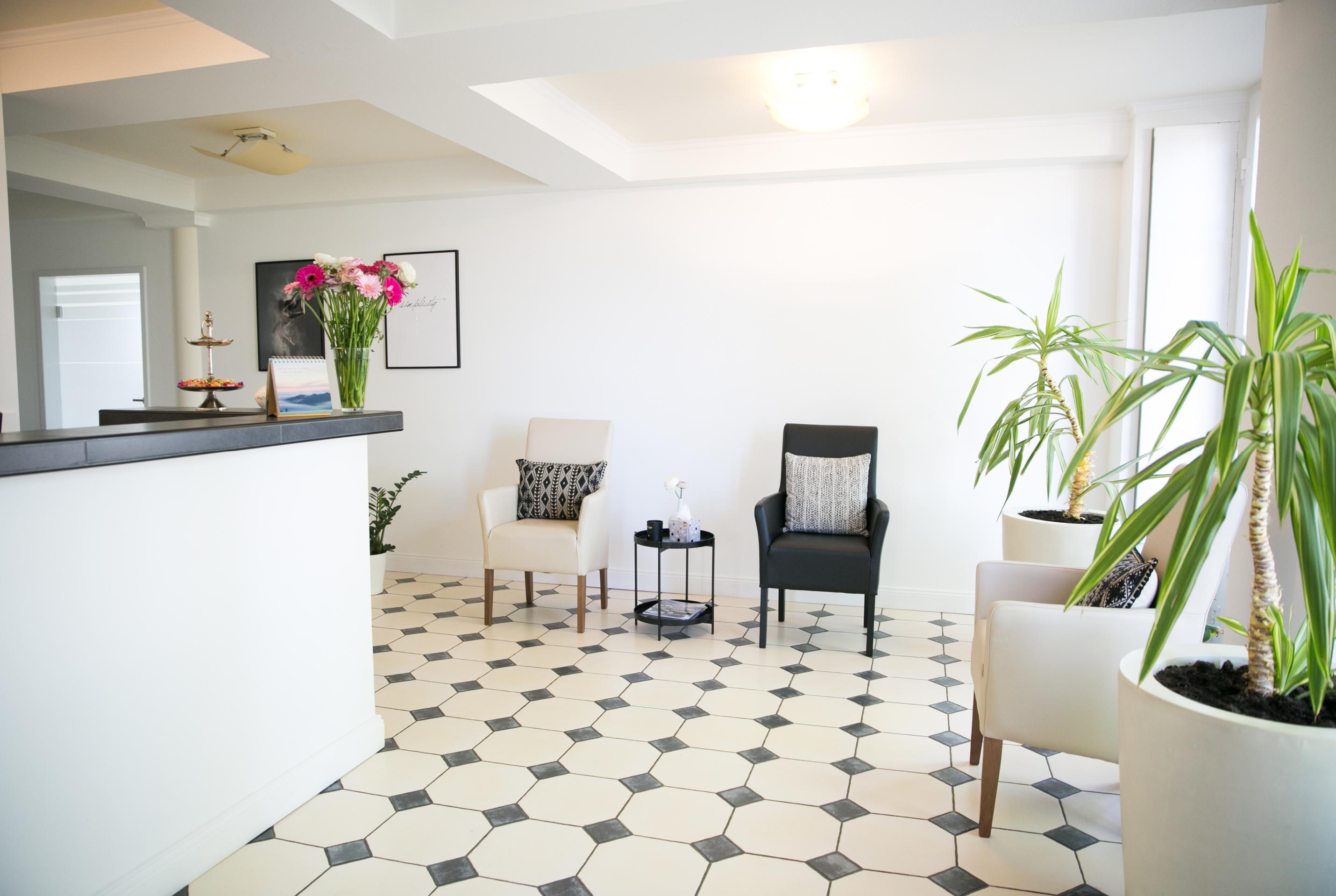 Stühle, Wartebereich, Eingangsbereich